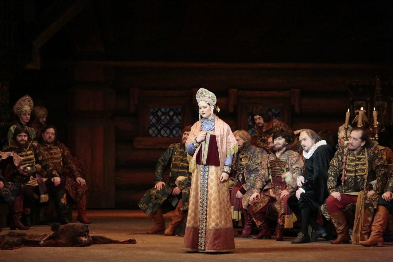 Агунда Кулаева в Ростовском музыкальном театре