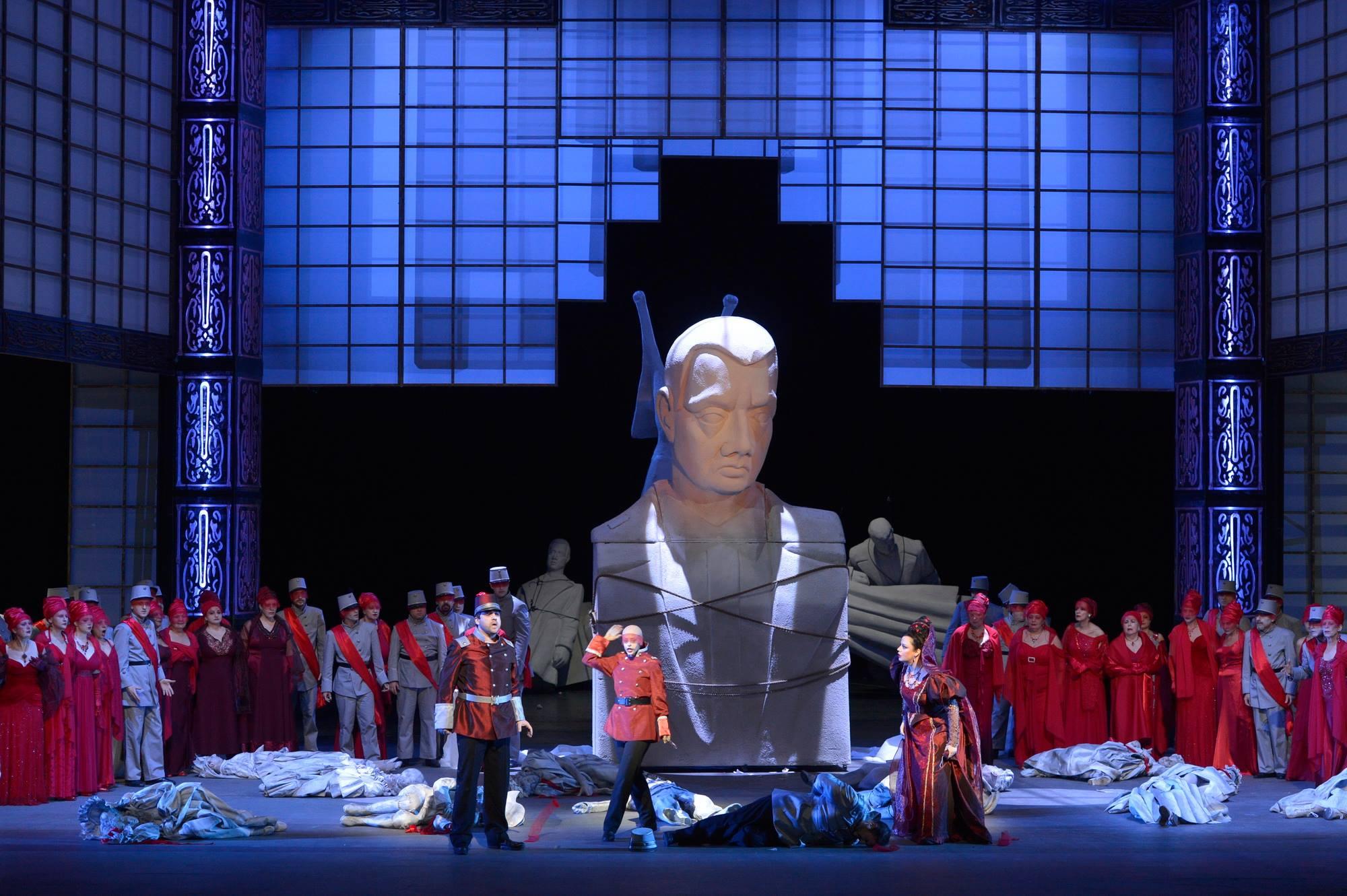 Звезды арт-агентства «Премьер» на сцене оперного театра в Тель-Авиве