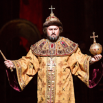 Алексей Тихомиров и Артём Гарнов в опере «Борис Годунов»