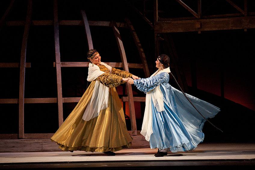 А.Кулаева в опере «Царская невеста»