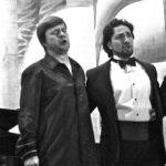 Д. Скориков и К. Бржинский в оперетте «Летучая мышь» И. Штрауса