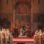 А. Тихомиров и А. Кулаева в опере «Борис Годунов» М. П. Мусоргского