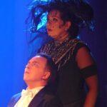 Ксения Вязникова в спектакле Курта Вайля «Семь смертных грехов»