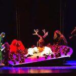 Андрей Лебедев и Кристина Бикмаева в опере «Пряничный домик или Гензель и Гретель»
