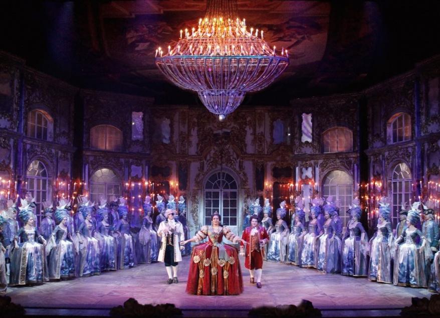 Алексей Исаев и Игорь Морозов в опере «Царица» Давида Тухманова