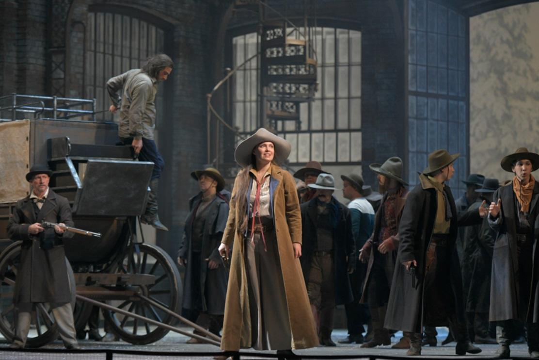 Мария Баянкина в опере Дж. Пуччини «Девушка с Запада»